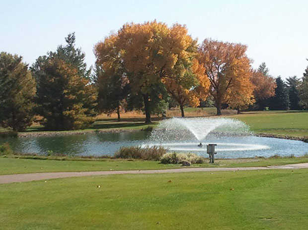 A fall view from Wahkonsa Country Club