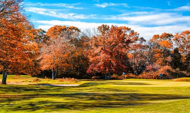 A view of a green at Reservation Golf Club (Jim Mahaney)