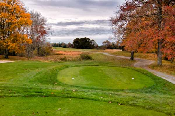 A view from a tee at Reservation Golf Club (Jim Mahaney)
