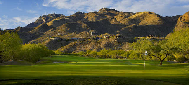 Mountain at Ventana Canyon: View from 18th green