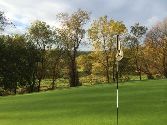 A view from a green at Westminster National Golf Course