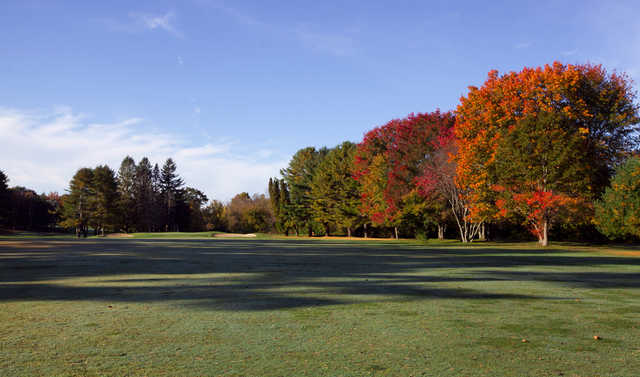 A view from a fairway at Riverside Golf Course.