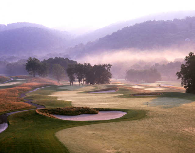A view of hole #11 at The Architects Golf Course