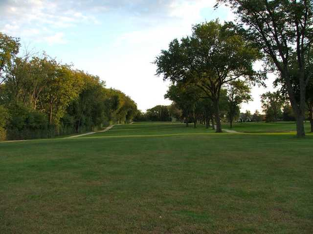 A view of a fairway at Renwood Golf Course