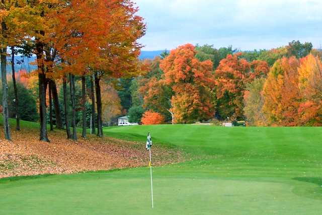 A view of a green at Martindale Country Club