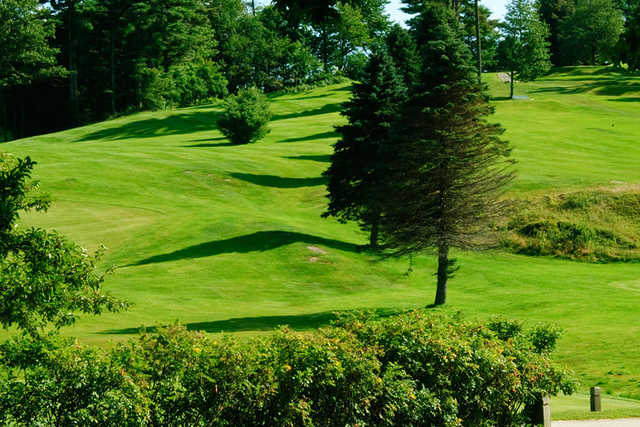 A sunny day view from Martindale Country Club
