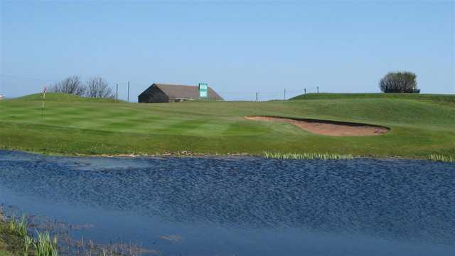 View of a green at Whitburn Golf Club