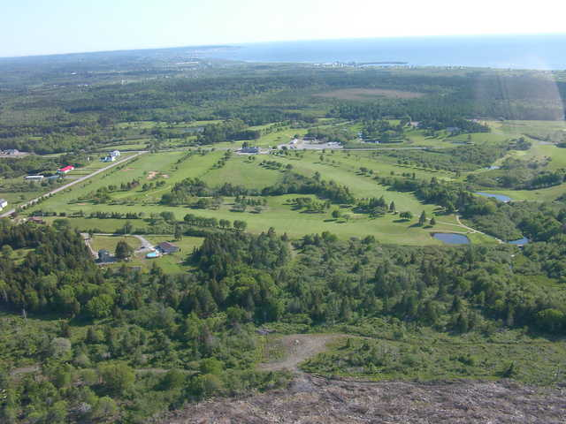 Clare Golf & Country Club: Aerial view