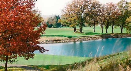 A view over the water from Goodrich Golf Course