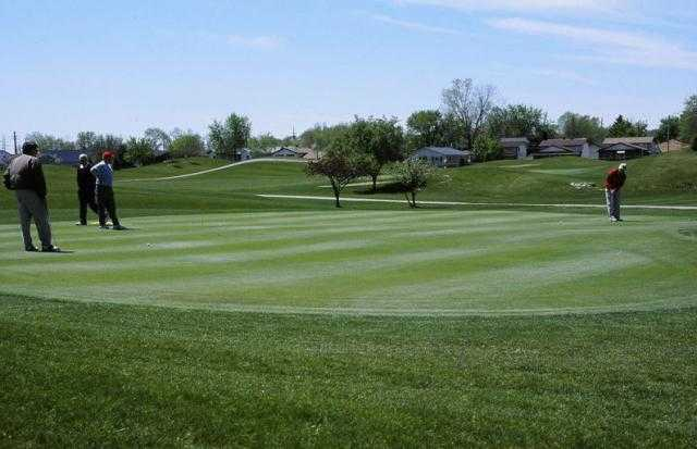 A view from Red Oaks Golf Course