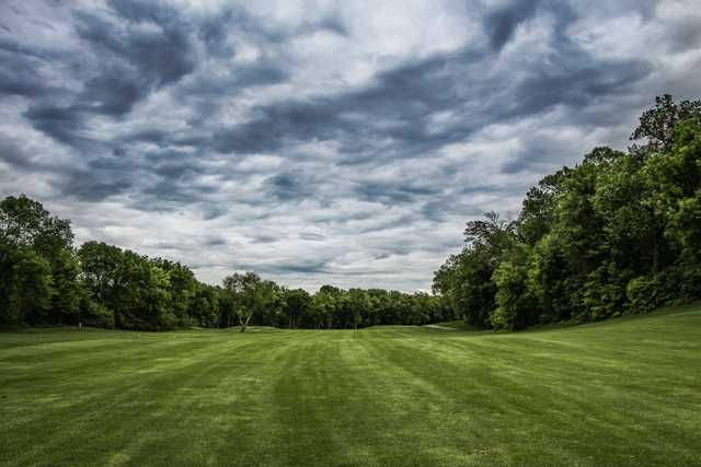 A view from a fairway at Eagle Trace Golf Course