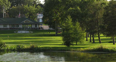 A view over the water from New Hope Village Golf Course