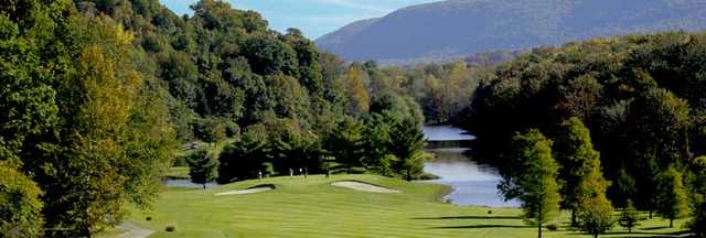 Great Gorge Golf Club: View from Lake Nine's first hole