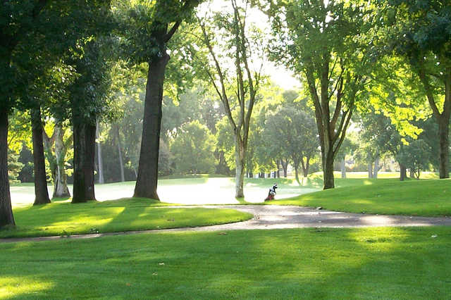 A view from Brookland Park Golf Course