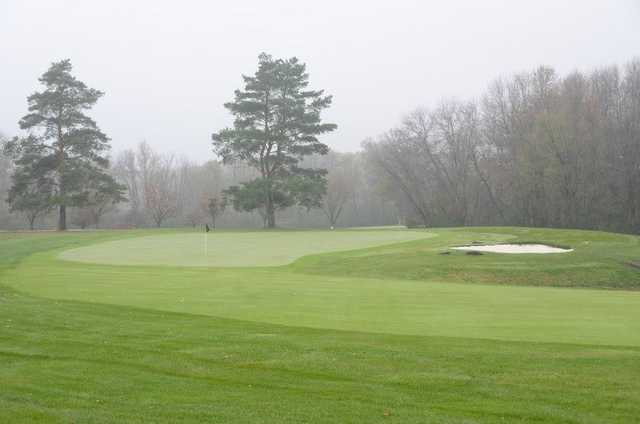 A view of the 7th green at Dellwood Country Club