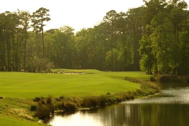May River - Hole Three, 428 yards, Par Four