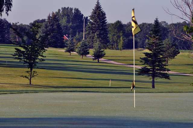 A view of the 11th hole at Shamrock Golf Club