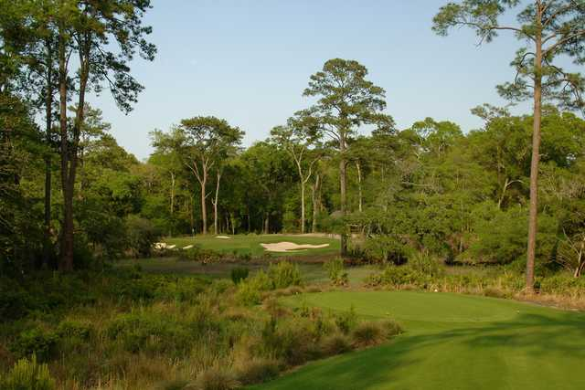 May River - Hole Six, 175 yards, Par Three
