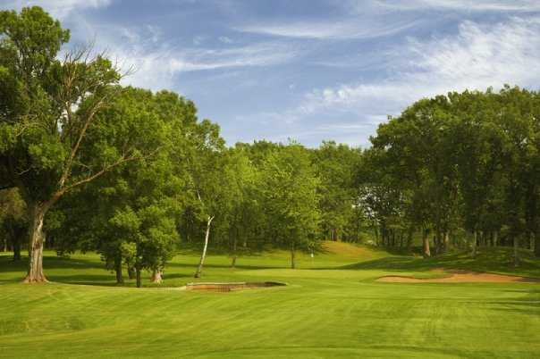 A view of a fairway at Forest Hills Golf Club