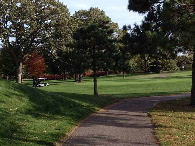 A view from Bellwood Oaks Golf Course
