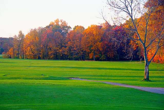 A fall view from Rivercrest Golf Club