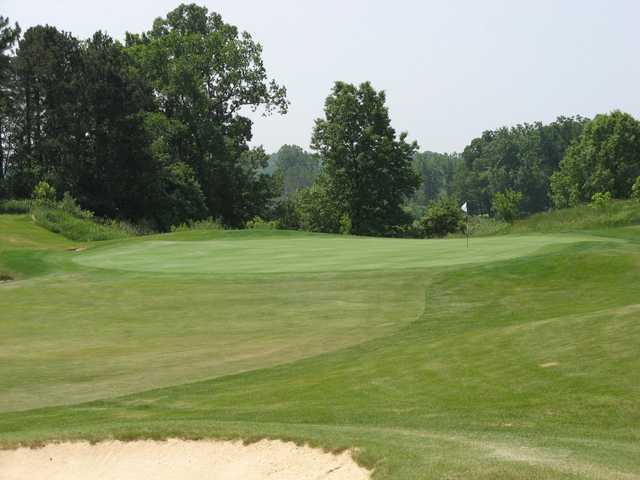 A view of the 8th green at Pierce Lake Golf Course