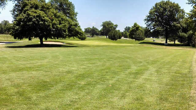 A view from fairway #1 at Bill & Payne Stewart Golf Course (Parkboard)