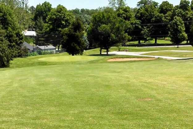 A view from the 14th fairway at Bill & Payne Stewart Golf Course (Parkboard)
