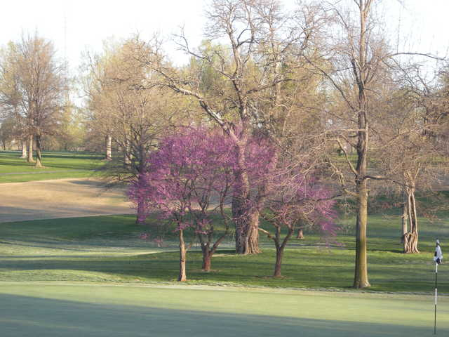 A spring view from Twin Oaks Country Club