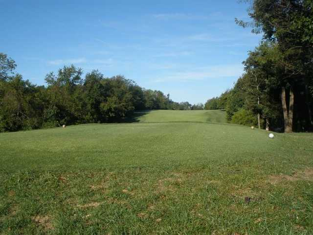 A view from a tee at Milwood Golf & Racquet Club