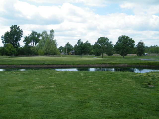 A view over the water from Greene Hills Country Club