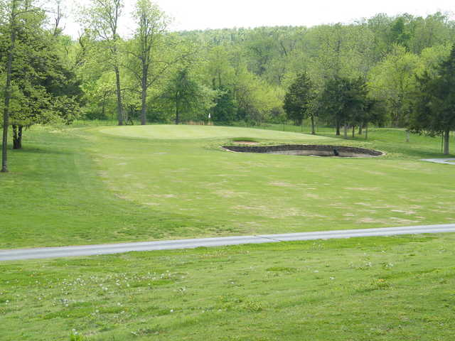 A view of a green at Greene Hills Country Club