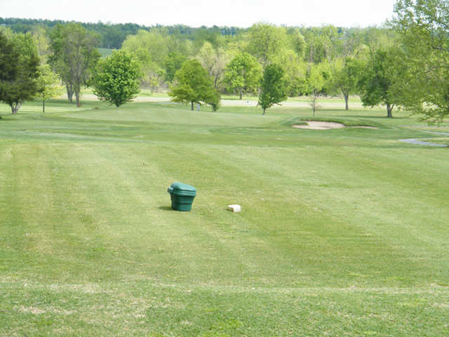 A view from a tee at Greene Hills Country Club