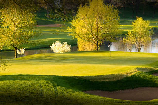 A spring view from Highland Springs Country Club