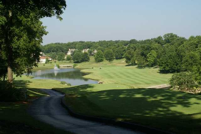 A view from a tee at Highland Springs Country Club