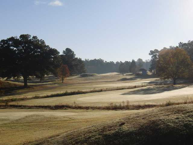 A fall view from Sunset Hills Golf Course
