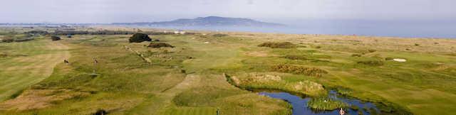 A view from The Royal Dublin Golf Club