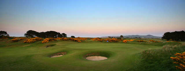 A view from Portmarnock Golf Club