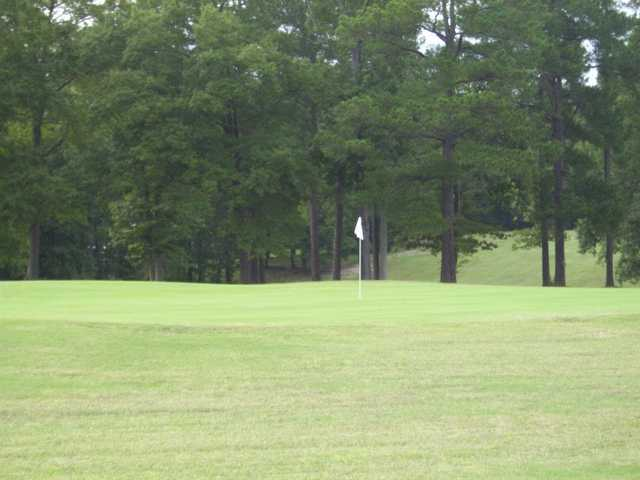 A view of a green at South Granville Country Club