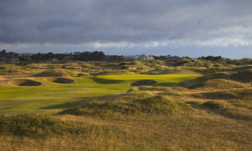 A view from hole #11 at Portmarnock Hotel and Golf Links