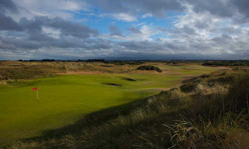 A view from hole #2 at Portmarnock Hotel and Golf Links