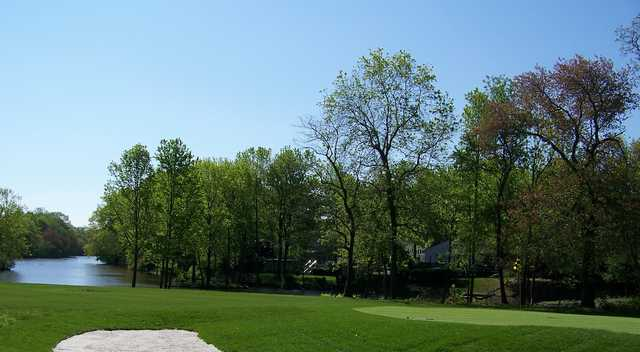 A warm sunny day view from William F. Larkin Golf Course at Colonial Terrace