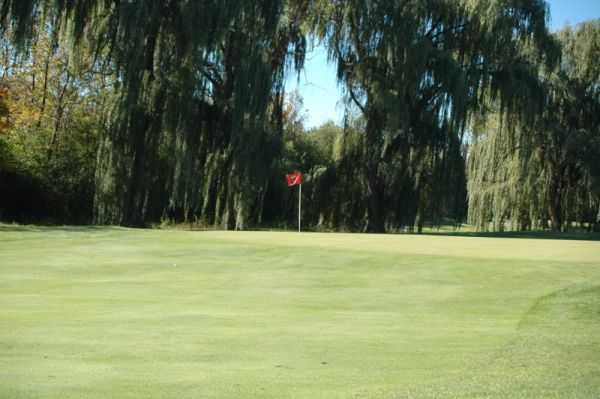 A view of a green at Whispering Willows