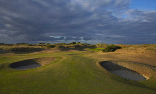 A view from hole #15 at Portmarnock Hotel and Golf Links