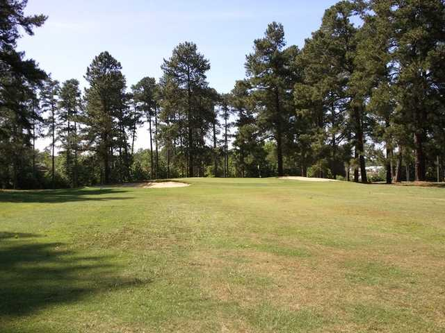 A view from a fairway at Green Hill Country Club