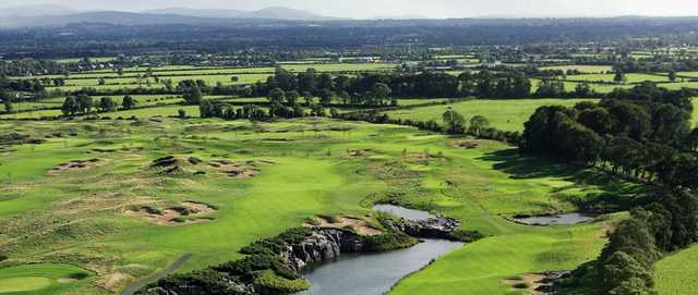 A view from Quarry Hole at Smurfit Course at The K Club