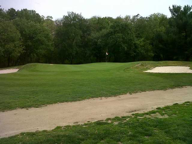 A view of the 4th green at Latona Country Club
