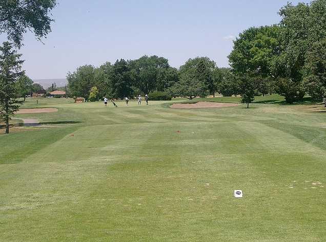 A view from tee #4 at Los Altos from Los Altos Golf Course