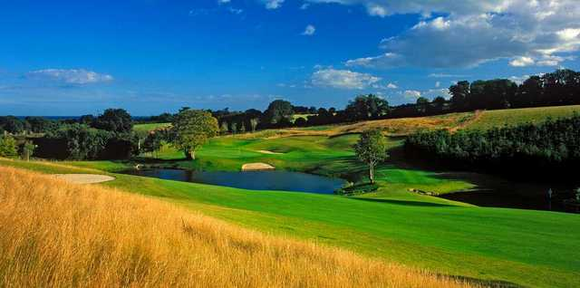 A view from the Heath Golf Club at Druids Glen Golf Resort