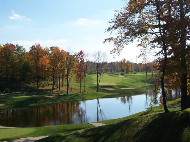 Boulder Creek GC: Fall colors